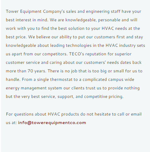 Tower Equipment Company