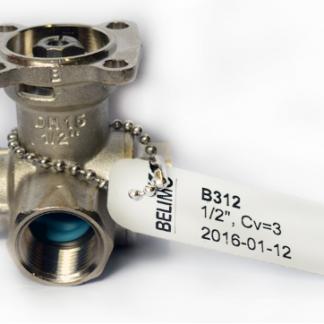 Belimo b312 three way ball valve