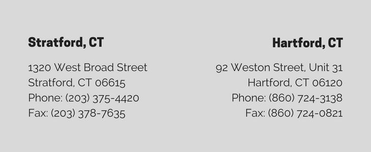 Stratford, CT1320 West Broad Street Stratford, CT 06615Phone- (203) 375-4420Fax- (203) 378-7635