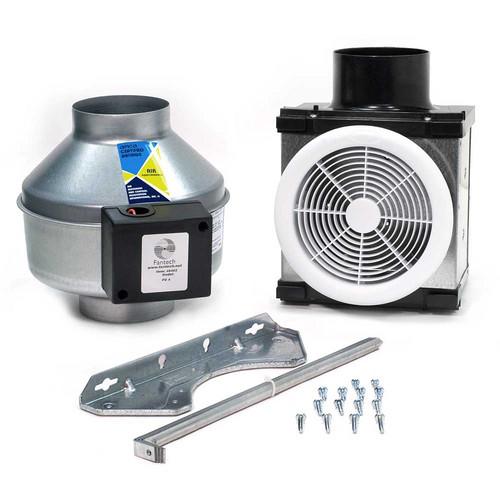 Venting Multiple Bathroom Exhaust Fans: Product Preview: Fantech Serenity Solo Bath Fan Kit